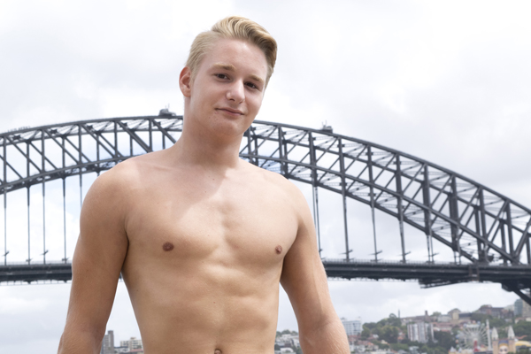 Naked Australian Boys - Young Lad Finnie from Sydney 2