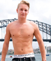 Naked Australian Boys - Young Lad Finnie from Sydney