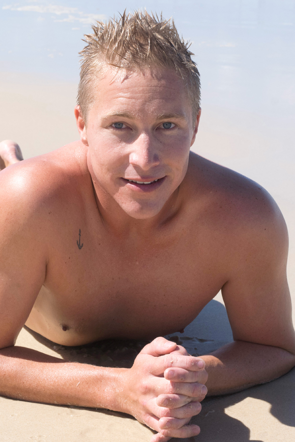 Naked Australian Boys - Aussie Lifeguard Cody 1
