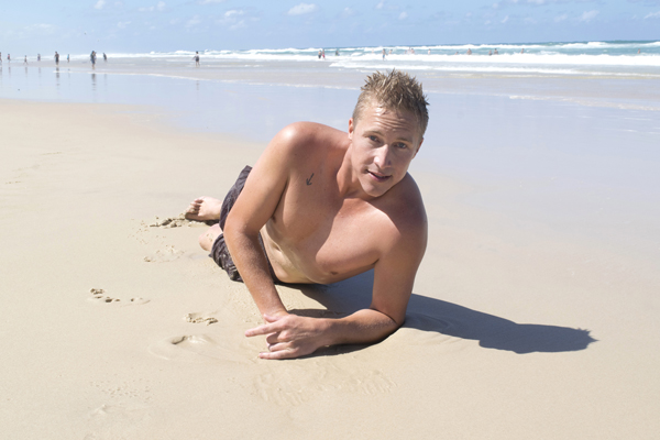 Naked Australian Boys - Aussie Lifeguard Cody 2